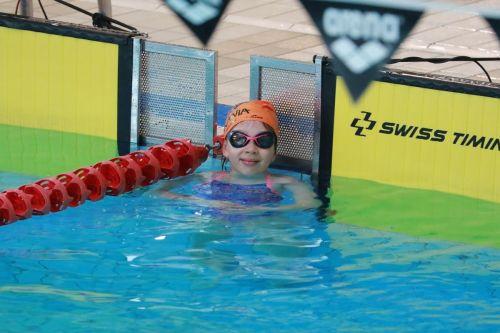 Pierwszy krok pływacki I runda 2019 marzec (małe piranie w akcji) ;-)